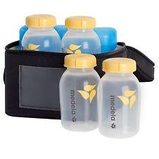 Medela Breastmilk Cooler Set Milk Storage Bags Bottles Containers Baby Feeding
