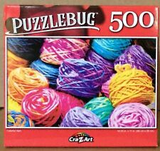 Puzzlebug Colorful Yarn Puzzle NEW