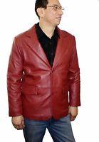 Men's Genuine Soft Lamb Leather Western Cowboy Blazer Handcrafted