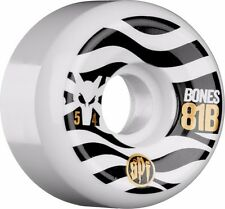 Bones Spf Eighty Ones Skateboard Wheels 54mm White