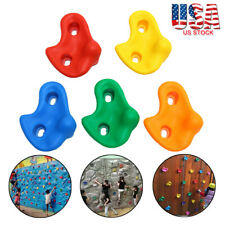 Climbing Stones Children's Plastic Hand Holds/Grips for Kids Rock Climbing Walls