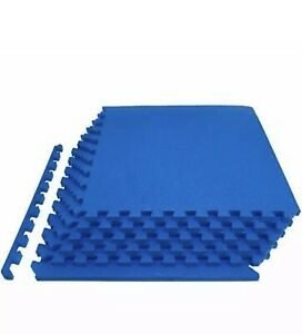 Extra Thick Puzzle Exercise Mat Interlocking Tiles Protective Cushioned Workout