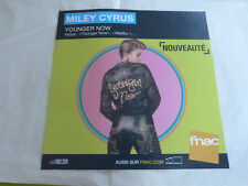 MILEY CYRUS - YOUNGER NOW !PLV 30 X 30 CM !!INSTORE PAPER DISPLAY