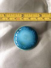 Antique Arts & Crafts Ruskin Button