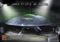 Pegasus Hobbies 1/72 Area 51 UFO A.E.-341.15B Kit 9100
