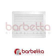GRIGLIA DI AERAZIONE in plastica mm 150x200 bianca