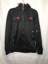 NORTH FACE Full Zip hooded jacket russia 2014 Mens Medium Black