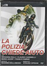 """FILM """"LA POLIZIA CHIEDE AIUTO """" CON GIOVANNA RALLI CLAUDIO CASSINELLI, DVD NUOVO"""
