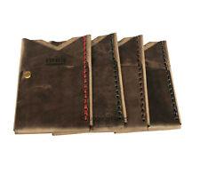 Espacio Handmade Big Spender Mens Minimalist Leather Wallet Card Case