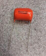 2 Pieces: Sprague .1UF 600V Orange Drop Capacitors