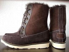 AUSTRALIA LUXE CHUKKA Womens Boots Damen Stiefel Leder Schuhe Braun Gr.36 NEU