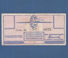 NIEDERLANDE / NETHERLANDS 10 Cent 1944 Lager Westerbork  VF