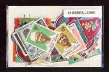 Sierra Leone 25 timbres différents
