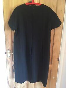 Next Black  Maternity Tailored Jersey Dress Size 22