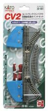NEW KATO 20-891 N Scale UNITRACK Compact Multi-purpose Turnout Set (CV2)