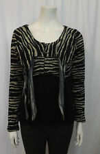HEART HE008-KNZ CYPRESS TOP BLACK / WHITE SIZE SMALL