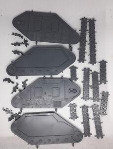 Warhammer 40K Imperial Guard Leman Russ and Demolisher Tank Sides Tracks