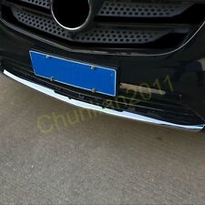 Chrome Front Bumper Lip Cover Trim for 2014-2017 Mercedes-Benz Vito Plastic