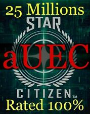 Star Citizen * 25,000,000 aUEC (Alpha UEC) 3.12 LIVE * DISCOUNT Fast Delivery