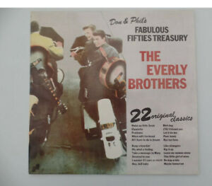 THE EVERLY BROTHERS-DON & PHILS FABULOUS FIFTIES TREASURY-1974-JANUS 6310 300