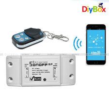 Control Remoto 433Mhz sonoff frecuencia de radio módulo conmutador inteligente Wi-Fi Inalámbrica Casa Socket