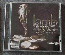 Lamb of God, sacrement, CD