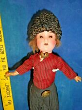 Antique 1900s German Painted Bisque Doll Armand Marseille 390 Rare Stick Boy Db3