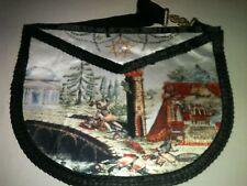 Franc-maçonnerie tablier de degré supérieur - Masonic apron