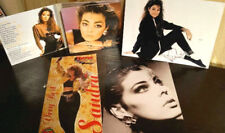 """Sandra Lauer Cretu Autograph + CD DELUX """"Greatest Hits"""" + 2 Photos."""