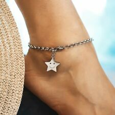Fashion Women Boho Smile Star Anklet Foot Chain Bracelets Beach Sandals Jewelry
