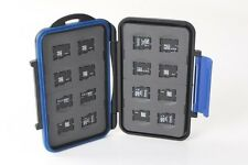 ZTC Memory Card Case 16 X Micro Cards Rugged Water Shock Proof Model Cas002