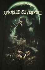 AVENGED SEVENFOLD Nightmare Album T-Shirt - LARGE - Black - Music Rock Metal