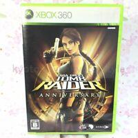 USED Xbox360 Tomb Raider: Anniversary 90847 JAPAN IMPORT