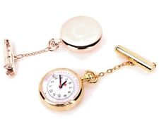 ALK Rose Gold Nurses FOB Watch with Date White Face FREE EXPRESS POST Au Stock