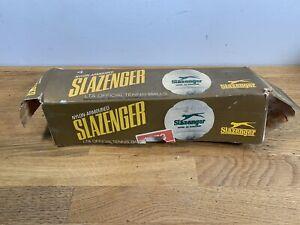 Vintage Slazenger Nylon-armoured Tennis Balls & Box