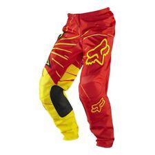 Fox Racing Men's Red/Yellow 180 Rockstar Off-Road Motocross Pants - Size 30