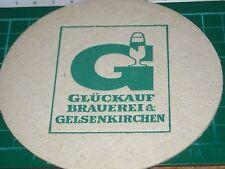 sottobicchiere beer mats birra bierdeckel gluckauf brauerei gelsenkirchen
