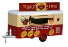 Oxford 76TR008 Rings of Fire Indian Food Mobile Trailer 1/76 New in Case T48Post