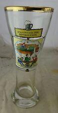 antikes dickes Bierglas Weizenglas Weißbierglas Stammtisch der Bettschoner