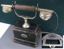 Antique 20s PHONE TELEPHONE LENIN Early Soviet Union Era USSR Russian ORIGINAL