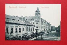 AK THERESIENSTADT Terezon um 1910 Blick in die Rathausstrasse mit Post  ( 37617