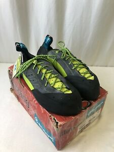 Scarpa Maestro Eco Men's Climbing Shoes Ink Size 12.5 (2104281016)