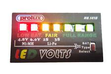 Batería Rc Voltaje Monitor Checker 7 Leds 2-3s Lipo & 4.8-6v Nimh