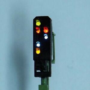 Spur N Fertigmodell Licht Ausfahrsignal / Hauptsignal , 6 LED , Viessmann 4413 A