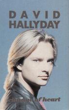 K 7 AUDIO 2 T (TAPE)  DAVID HALLYDAY  *CHANGE OF HEART*