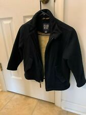 Boys 5-6 jacket by GAP Navy,front zipper/ warm lining  GREAT condition