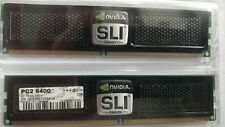 OCZ DDR2 800 (6400) 2 x 2GB RAM Kit Nvidia SLI Ready Edition