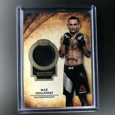 2019 Topps UFC MAX HOLLOWAY Relic 37/99