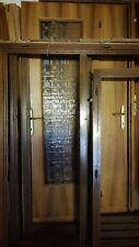 Porte in legno noce nazionale USATE
