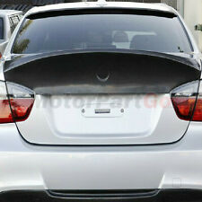 For BMW 3-Series E90 4Door UNPAINTED FRP Primer CSL Style Rear Spoiler 2005-2008